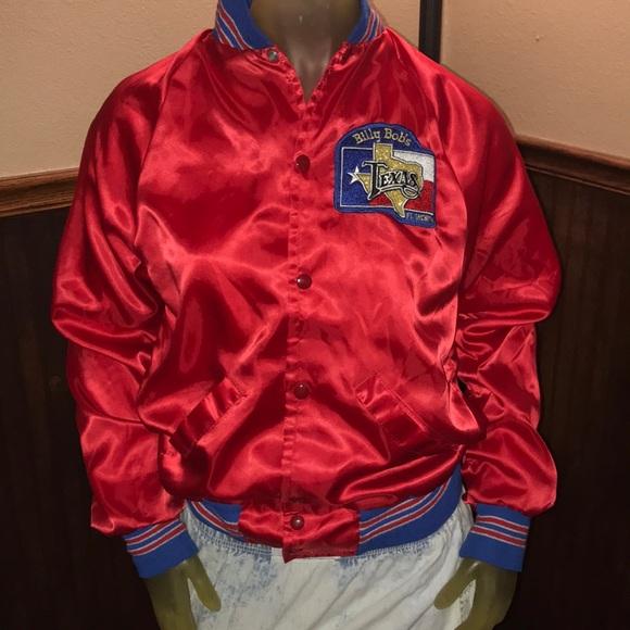 WOW! Rare Vintage Billy Bob's Texas Bomber Jacket